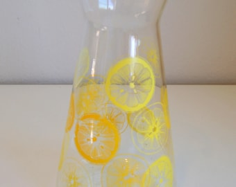 Vintage Pyrex Glass Lemonade / Juice Carafe