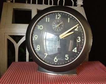 Westclox Black Big Ben French Country Cottage Chic Vintage