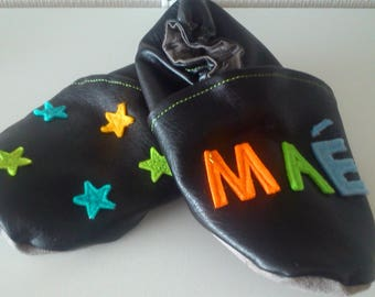 soft slippers personalized name