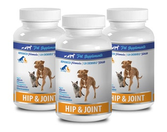 old dog supplements - Hip And Joint - Health And Support - For Dogs And Cats - glucosamine chondroitin for dogs chewable 3 Bottle 360 Chews