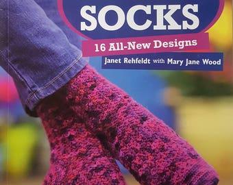 More Crocheted Socks Instruction Book