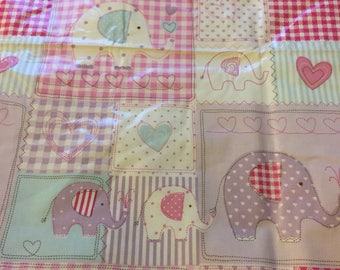 Patchwork Baby Girl Tablecloth Oilcloth
