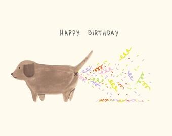 Confetti Fart / Birthday Card
