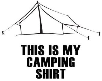 This Is My Camping Shirt - Camping Shirt