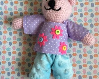 mini light pink ted
