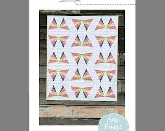 Flitter Quilt Pattern --PDF