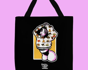 Sushi Girl - Honey Mustard Edition Thick Tote Bag