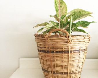 Vintage cane planter