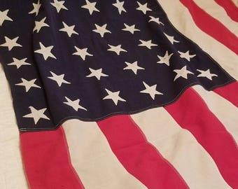 48 Star USA Cotton Bunting Flag, 5x8, Superior Brand