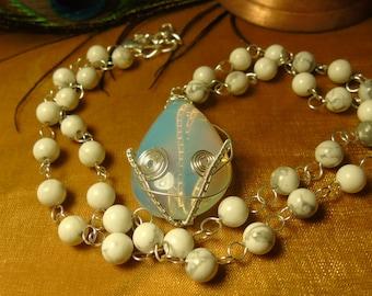 Opalite Tear Drop Necklace