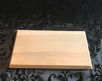 DIY Make Your own Sign Unfinished Solid Poplar Wood 11.5 x 6 inches