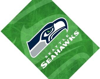 Passport Cover Case Holder -- Seattle Football