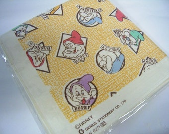 The 7 Dwarfs Hankie> New Old Store Stock