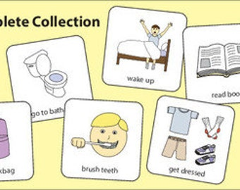 Routine Collection Picture Cards