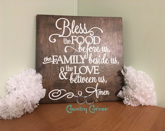"""Bless the Food 
