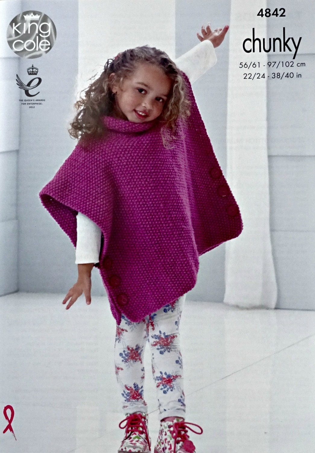 Girls Knitted Poncho Pattern Choice Image - handicraft ideas home ...