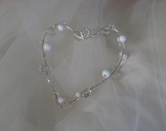 Beautiful bead hearts