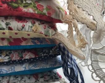 Pretty Cotton & Lace Lavender Bags