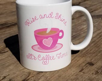 Coffee time mug