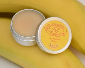 Lip Balm banana, natural lip Care