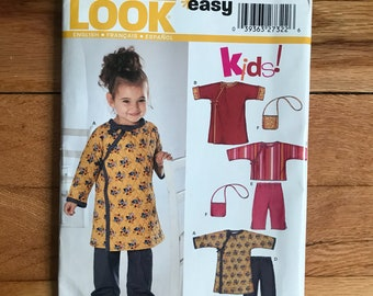 Toddler Tunic and purse  New Look Easy Pattern 6333 Size A 1/2-4