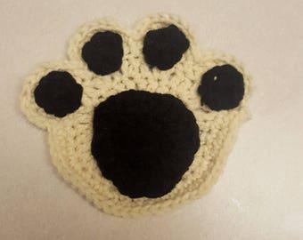 Dog Paw Coaster