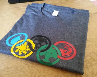 Magic: The Gathering colours of Magic Olympics Men's Triblend T-shirt