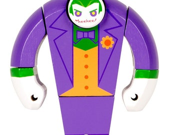 Joker Wooden Figure from DC Direct