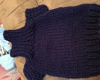 Petit tricot pull chien