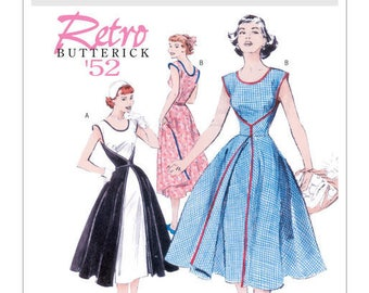 Vintage by B4790 retro Butterick sewing pattern