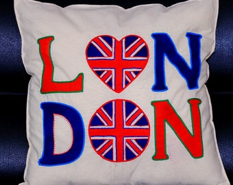Handmade London Cushion Cover
