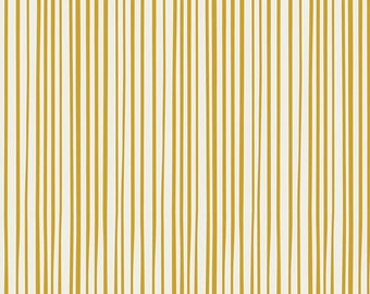 SALE!! 1 Yard Essentials ll by Art Gallery Fabrics- 352 Streakly Buisness Gold