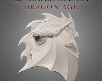 3d model HELMET «Dragon Age»