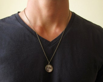 Necklaces for men etsy aloadofball