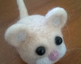 Needle Felted Little Mouse