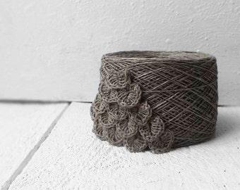 Crochet Linen thread 4ply Linen yarn Size 5 crochet thread, Knitting yarn, Pure linen yarn,  Crochet yarn, amigurumi yarn, doily yarn
