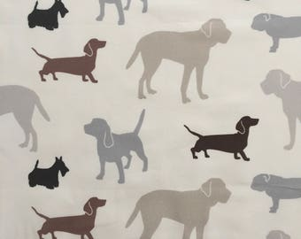 custom baby burp cloth ~ gray/brown dogs ~ premium 6 ply cloth diaper burp cloth ~ baby accessories ~ from lillybelle designs