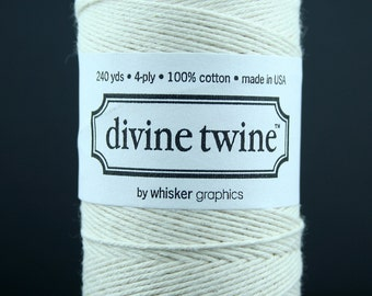 Natural Divine Twine, Natural Bakers Twine - 240 yards