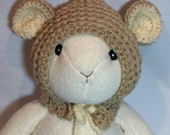 Adjustable Teddy Bear Hat