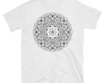 DIY Color You Own T-Shirt - Mandala Design - Relax & Create