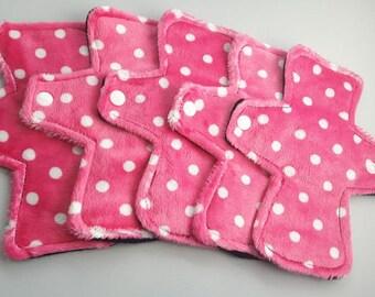 "6"" Reusable Cloth Pantyliner - Minky"