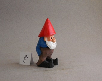 Tiny Garden Gnome #104