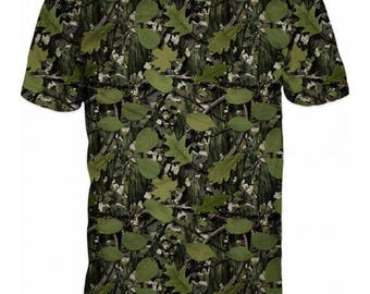 Cool 3D Camouflage Hunting Fishing Mens T-shirt