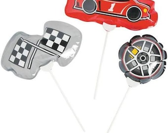 My Racing Party Balloons / Race Party/ Race car Party Theme / My race car theme / Race car /self inflating balloons