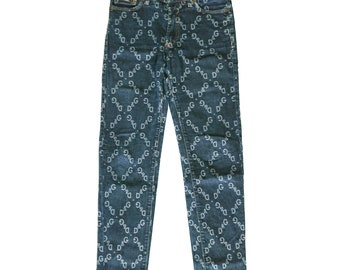RESERVED Dolce and Gabbana monogram jeans