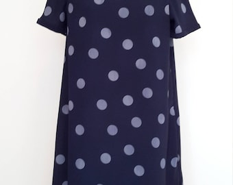 Ladies spotty shift dress