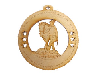 Horse Ornament - Female Horse Ornaments - Female Horse Gift - Gift for Horse Lover - Equestrian Decor - Horse Art - Personalized Free