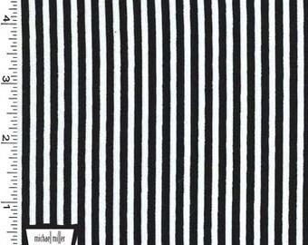 Black Little Stripes from Michael Miller