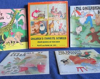 "Vintage 1932 boxed set Platt & Munk ""Children's Favorite Stories"