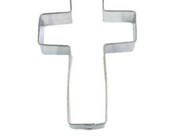 """5"""" Croix emporte-pièce idéal pour les baptêmes, école de vacances de bible, dimanche école, chorales, église, confirmations"""